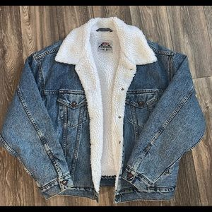 Authentic Vintage Levi's Sherpa Lined Jacket